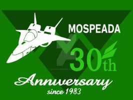 Mospeada 30th Anniversary icon. by Graphitedriver001