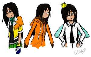 Favorite Characters' Outfits by AnotherSasukeFan