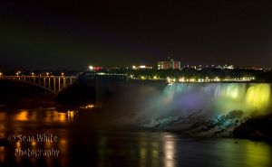Niagara at Night by 1shotaway
