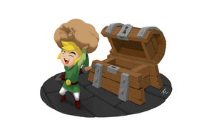 Link's Chest Day by WEAPONIX