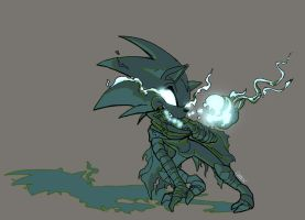 Commission - The Sonic Boom Soul Reaver by SkyPirateDash