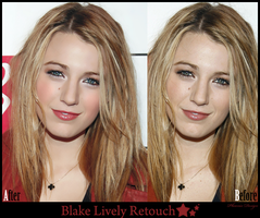 Blake Lively Retouch by LadyFeniceNera