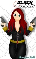 Black Widow Commission by DannimonDesigns