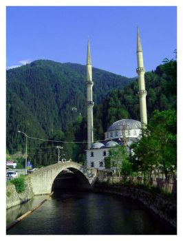 Uzungol Mosque by pisq