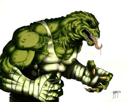 Killer Croc by harrybognot
