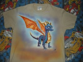 Spyro-Shirt by metalfoxxx