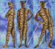 Zentai Tiger , 2-of-2 by Mystic-Creatures