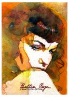 Bettie Page 1 by markmchaley