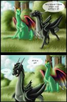 First Meeting by Eiswolf-Zero
