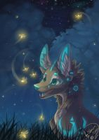 Dancing fireflies by Stasya-Sher