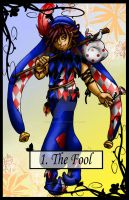 Tarot Fool Colour by TheBlindProphetess