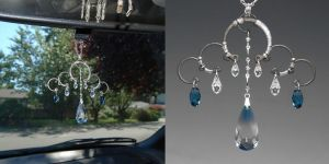 Ocean Blue Sun Catcher- SOLD by YouniquelyChic