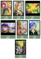 ACEO's by Pfauenauge