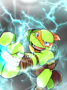 Electric Mikey by JaessJinx