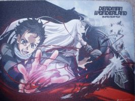 Deadman Wonderland Mousepad by KittyChanBB