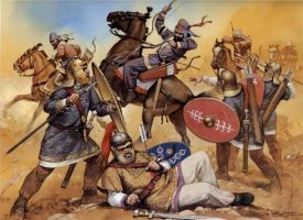 Legionaries vs Sassanid Cav. by Fall3NAiRBoRnE