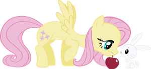 Fluttershy and Angel by Eamon-Valda