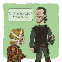 Bronn's a Smartass by bangalore-monkey