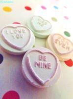 Love heart candys by IamNasher