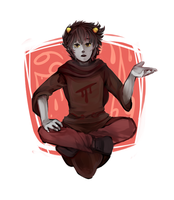 Kankri Vantas - Seer of Blood by hangotango