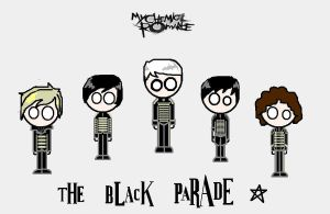 chibi the black parade by darkwaylovesMCR