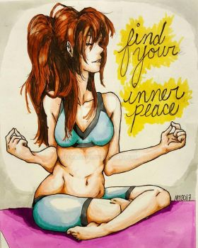 inner peace.  by temari9100