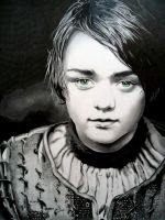 Arya Stark by Cr1msonCloud