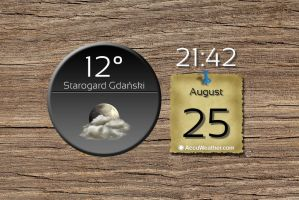 Circle Weather Widget V2 by Slavoo123