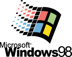 Windows 98 Logo Vector by pkmnct
