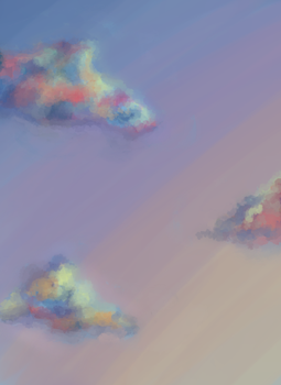 Daily Doodle #5 - Clouds by Meg-07