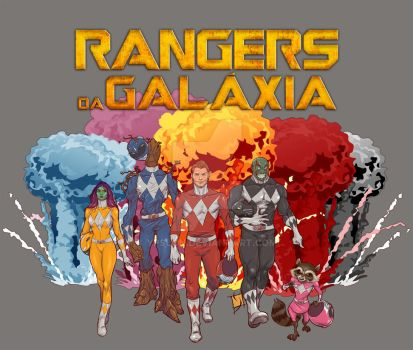 Rangers of the Galaxy by Ypslon