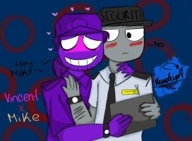vincent x mike ( vinike ) by Rodrig0x