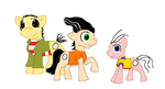 Ed Edd n Eddy Ponies by MochiFries