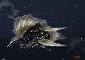 Deep Sea Fish for Train Your Brain Contest by floopate