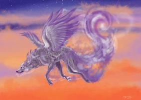 Return from the realm of spirit by lupinemoonfeather