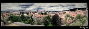 Prague's Panorama from Castle by KRi5S