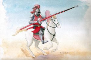 The Red Knight by tursiart