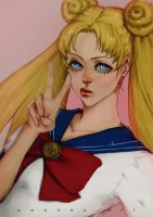 Usagi by AmoonaSaohin