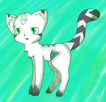 Lost Adoptable- Arrow by PinkVaporeon