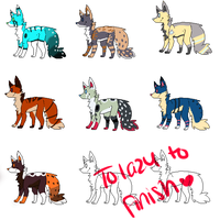 Puppy Adopts ! Closed! by EC-Adopts