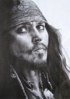 Jack Sparrow by CKArtpage
