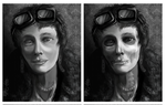 Speed Painting Amelia Earhart Alive and Dead by Ito-Saith-Webb