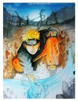 Naruto by cola-san