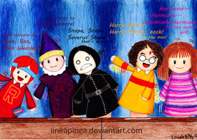 StarKid Puppet Pals by lineapinea
