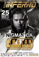 Ruslan Nigmatulin Poster by DarkMonarch