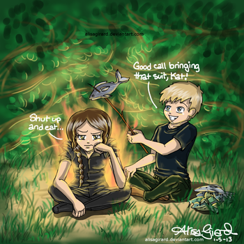 The Hunger Games: Girl On Fire by Odie-Farber