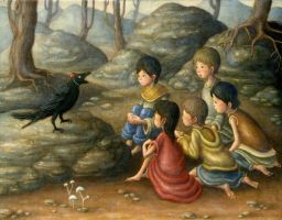 The raven's story by perodog