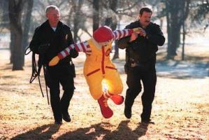 Ronald McDonald is in trouble by maxpower45