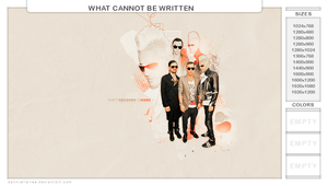 what cannot be written by dannielle-lee