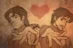 Eugene and Cassian send their love by Lokotei